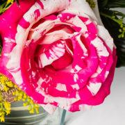 flores arranjo rosa rajada 4_1